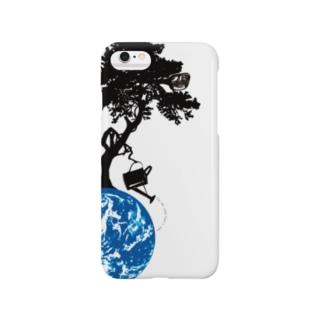 世界樹っぽいの Smartphone cases