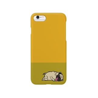 寝ぱぐもんケース。 Smartphone cases