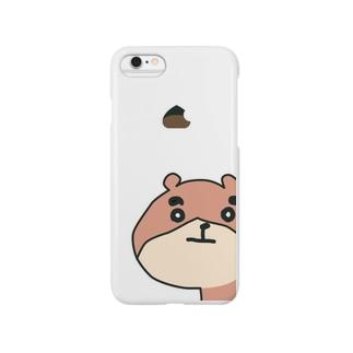 ◼︎くまろん◼︎アップル社製?いいえ、マロン社製、iPhone6カバー Smartphone cases