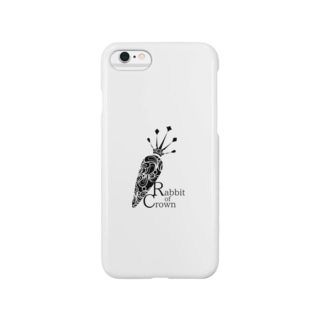 Rabbit of Crown(ニンジンver.) Smartphone cases