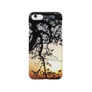 煉獄 作品 「時流れ」 Smartphone cases