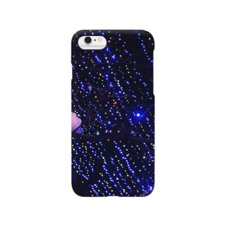 煉獄 作品 「星のざわめく夜」 Smartphone cases