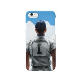 ピッチャーの背中 Smartphone cases