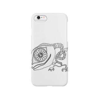 がぶり4 Smartphone cases