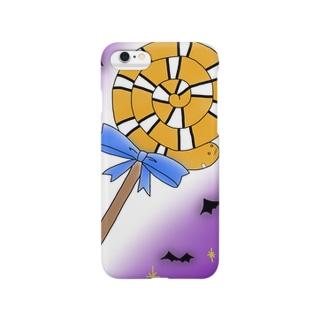 ニシキアナゴのハロウィン Smartphone cases