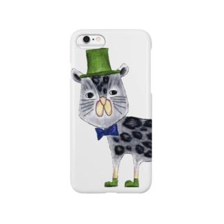クロヒョウさん Smartphone cases