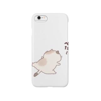 猫さん Smartphone cases