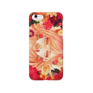 花の中の少女 Smartphone cases