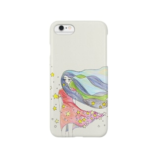 starry starry girl Smartphone cases