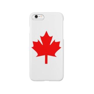 カナダ Smartphone cases