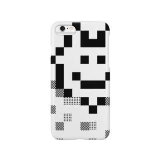 ホワイトぽよぽよちゃん Smartphone cases