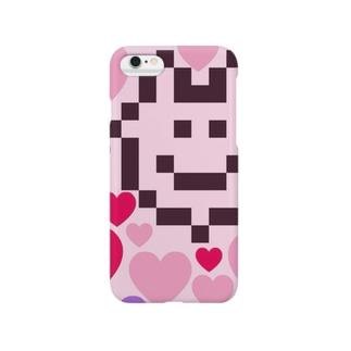 ピンクぽよぽよちゃん Smartphone cases