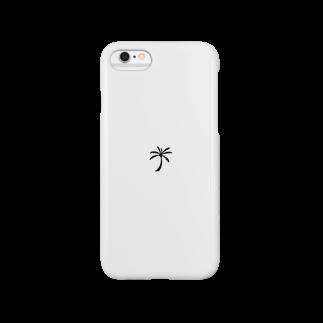 シンプルデザイン:ワンポイント スマートフォンケース