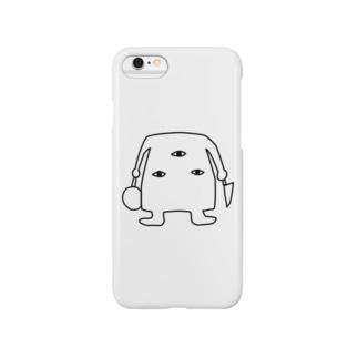 三つ目 Smartphone cases