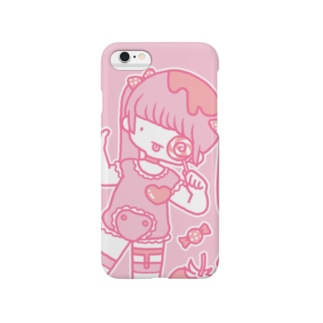 ぺろぺろcandyあっかんべー Smartphone cases