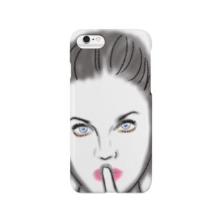 秘密女の子ケース Smartphone cases
