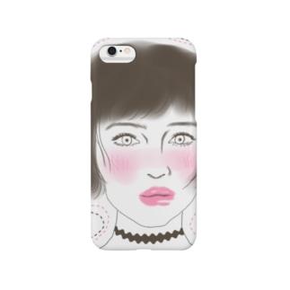 チョーカー。女の子。ケース Smartphone cases