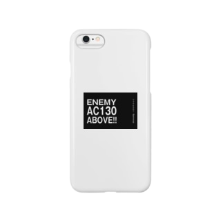 Enemy AC130 Above!!(Black) Smartphone cases
