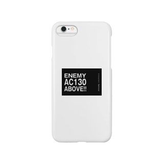 EAA!! Official StoreのEnemy AC130 Above!!(Black)スマートフォンケース