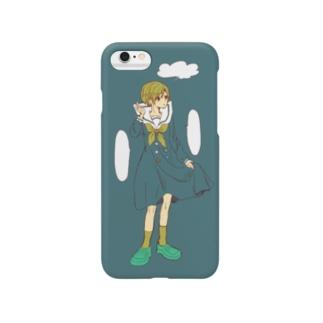 ワンピセーラー服の女の子 Smartphone cases