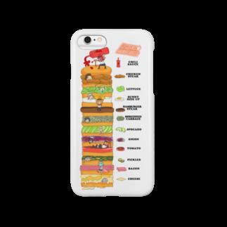 だいの12星座ハンバーガー Smartphone cases