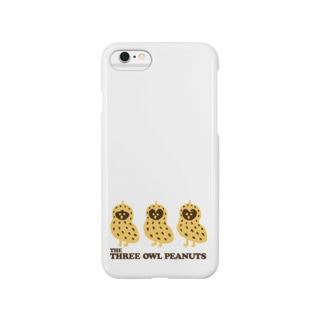 【THE THREE OWL PEANUTS】 Smartphone cases