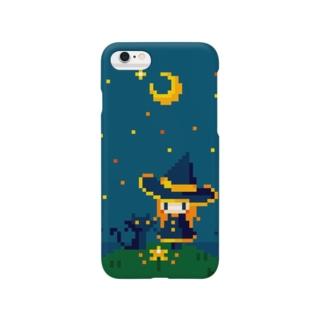 魔女と星の花 スマートフォンケース