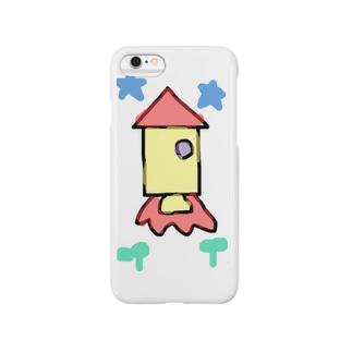 落書きロケット Smartphone cases