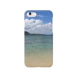 竹富島の海 Smartphone cases