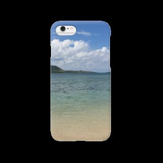 Shop Of Futureの竹富島の海 Smartphone cases