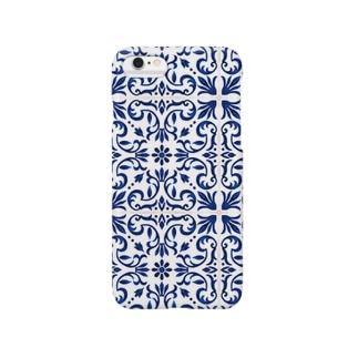 ボヘミアンなタイル柄 Smartphone cases