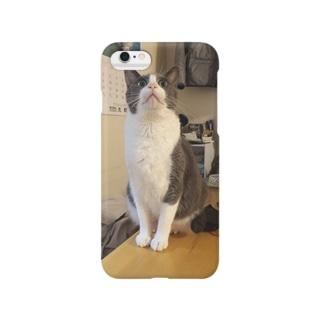 こてにゃん(おめめ) Smartphone cases