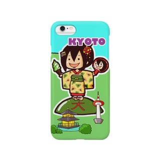 ご当地ちーちゃん 京都 Smartphone cases
