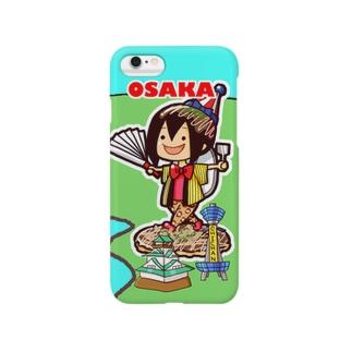 ご当地ちーちゃん 大阪 Smartphone cases