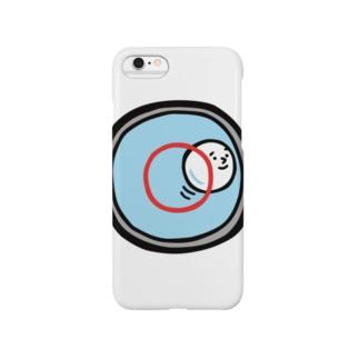 キャラNo.53水準器の中の気泡くん  Smartphone cases