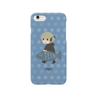 しゃんぼの魚釣り Smartphone cases