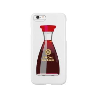 お醤油さん Smartphone cases