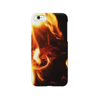 煉獄 作品「静寂と…」 Smartphone cases