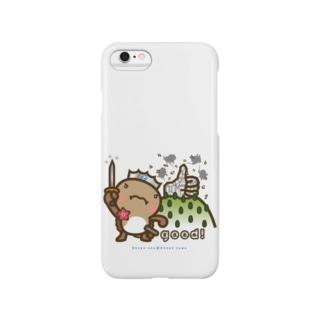 邑南町ゆるキャラ:オオナン・ショウ『Silver-good!』 Smartphone cases