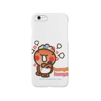 邑南町ゆるキャラ:オオナン・ショウ『humph! humph!」』 Smartphone cases