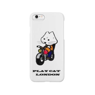 biker playcat Smartphone cases