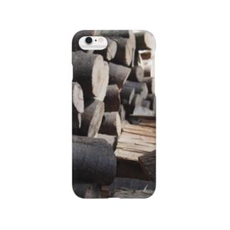 ストーブ薪 Smartphone cases