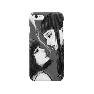 シガレットキス Smartphone cases