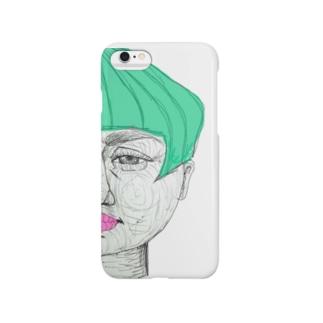 緑髪 Smartphone cases