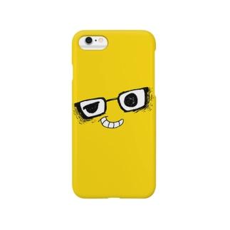 i*Color - MEGANE*【 Yellow 】 スマートフォンケース