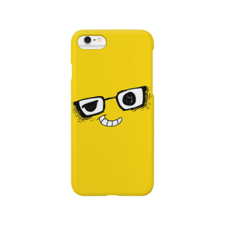 Yuji_Kunのi*Color - MEGANE*【 Yellow 】 スマートフォンケース