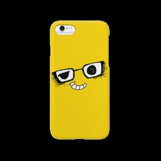 Yuji_Kunのi*Color - MEGANE*【 Yellow 】 スマートフォンケース