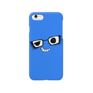 i*Color - MEGANE*【 BLUE 】 スマートフォンケース
