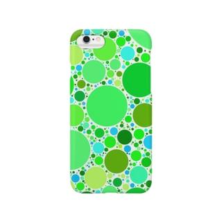 Green Bubble* スマートフォンケース