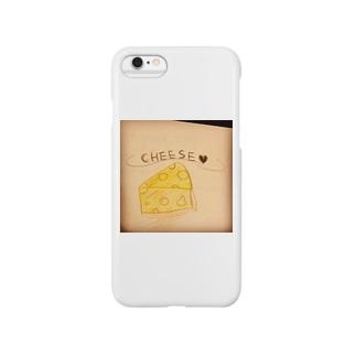 チーズ Smartphone cases
